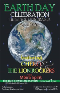 Earth Day Concert with Cheko 2016